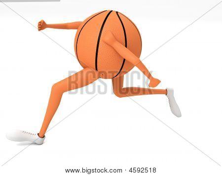 Basket Ball Running