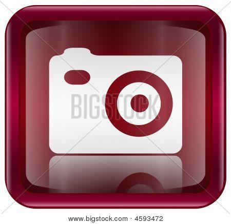 Camera Icon Red