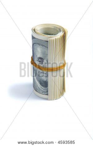 Dollars, Twisted Up In A Tube