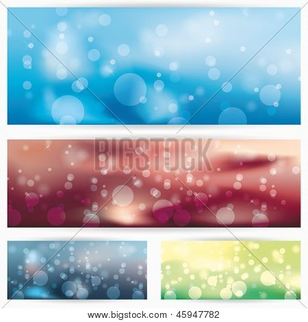 abstract glowing background illustration