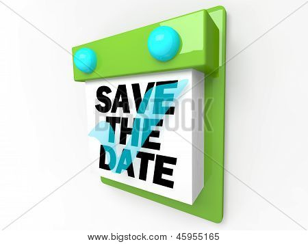 Save the Date - Wandkalender