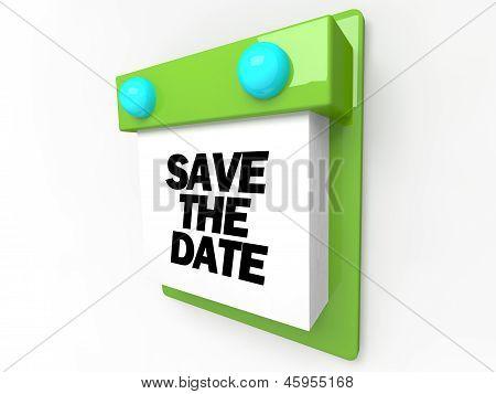 Save the Date - Wall Calendar