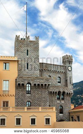 Monaco - Turret Of Royal Palace