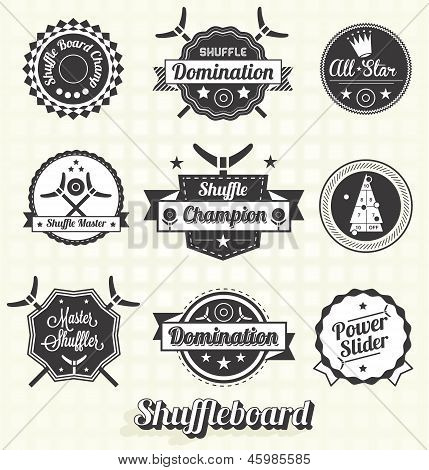Shuffleboard Labels