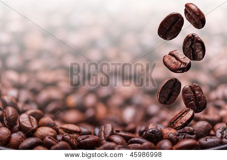 Flying Coffee Beans