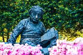 Albert Einstein Memorial in at the National Academy of Sciences in WashingtonDC, USA poster