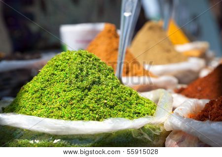 Indian Colored Spices