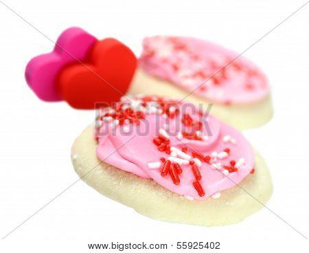 A Pair Of Valentine Cookies