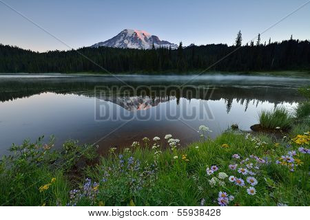 Reflection Lake Sunrise