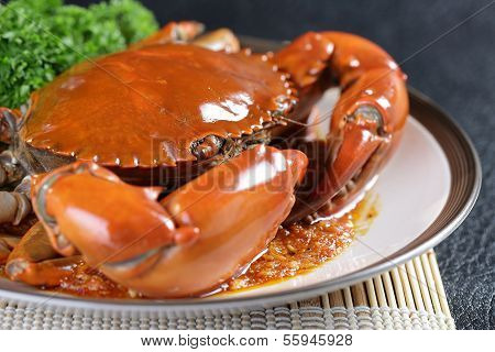 Singapore Chili Mud Crab