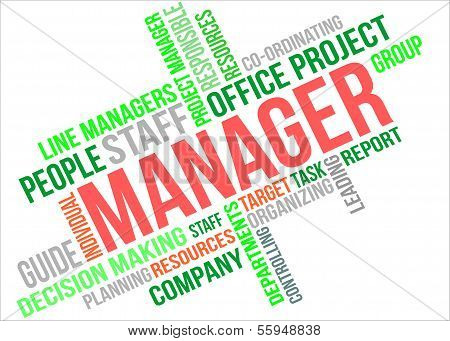 Manager - Word Cloud