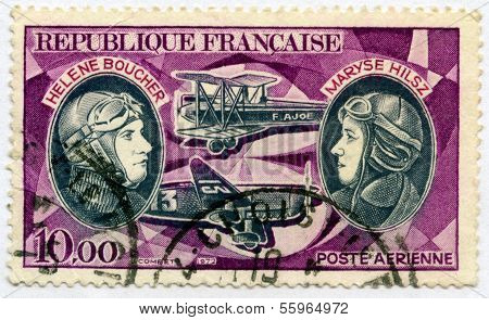 Stamp from France Aviation