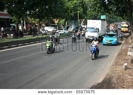 cityscape of Semarang