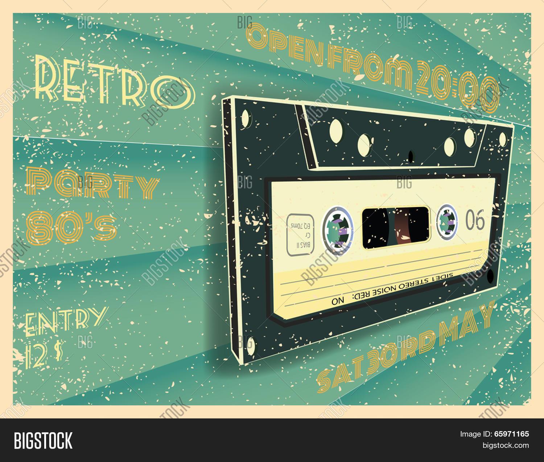 Retro Party Poster Vector Photo Free Trial Bigstock