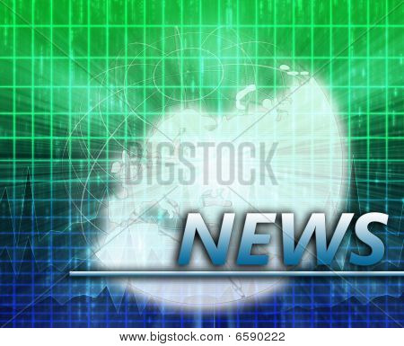 Europe News Splash Screen