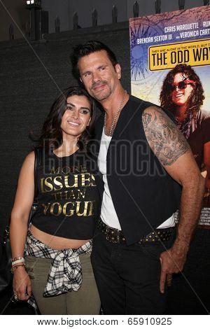 LOS ANGELES - MAY 30:  Shawna Craig, Lorenzo Lamas at the