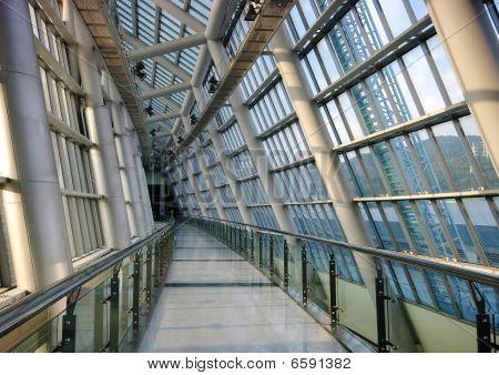 Futuristic Building-Interior