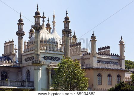 Domes and spires of the Royal Pavilion, Brighton poster