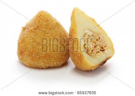 coxinha de frango, brazilian chicken croquette