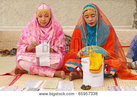 Omani Women Tailors