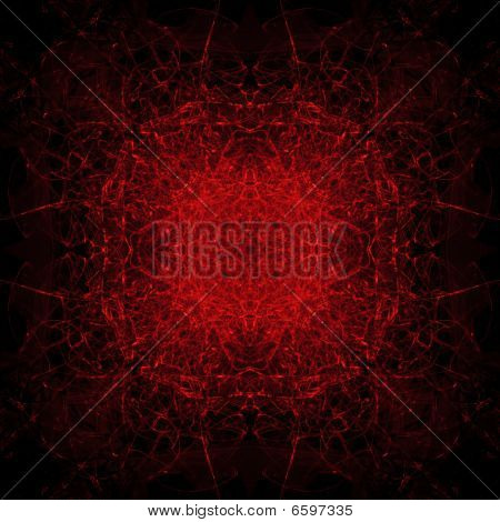 Red Satanic Background Tile