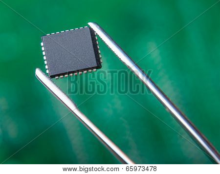 Chip With Tweezers, Electronic