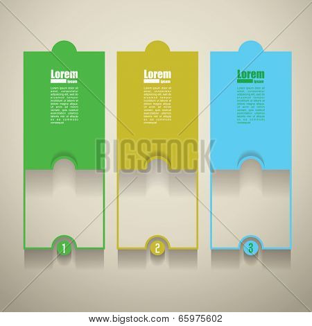 vector infographic  background. Banner template.