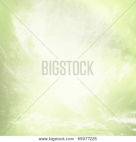 Grunge faded green texture background