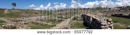 Panorama Of Aladja-hoyuk
