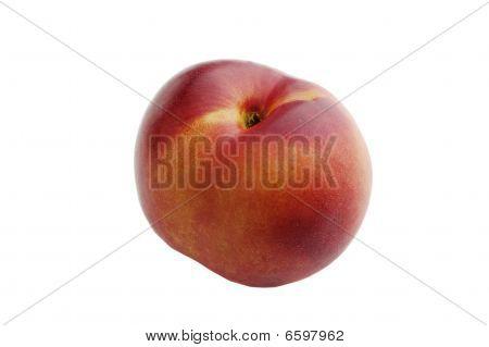 nectarine isolated