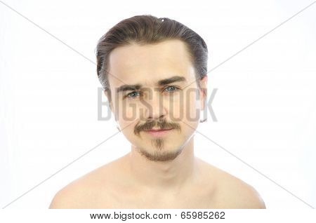 Young Attractive Man Smiling