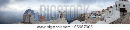 Santorini Morning Panorama