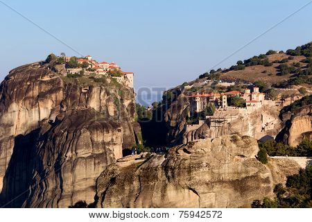 The Holy Monastery Of Varlaam And The Holy Monastery Of Great Meteoron, In Greece