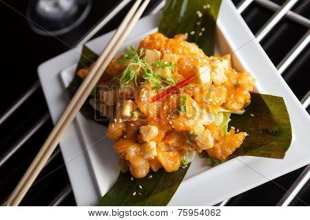 Crispy Thai Shrimp Dish