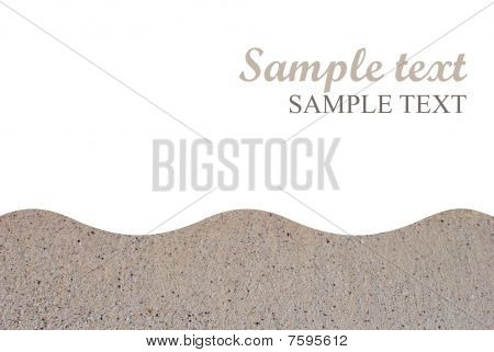 sandy paper