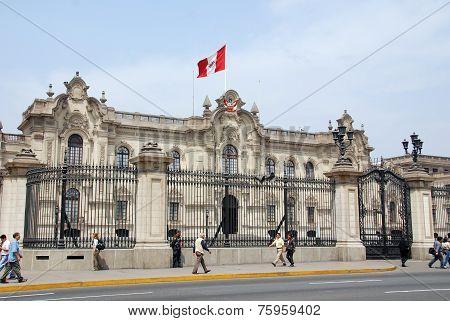 Government palace at Plaza