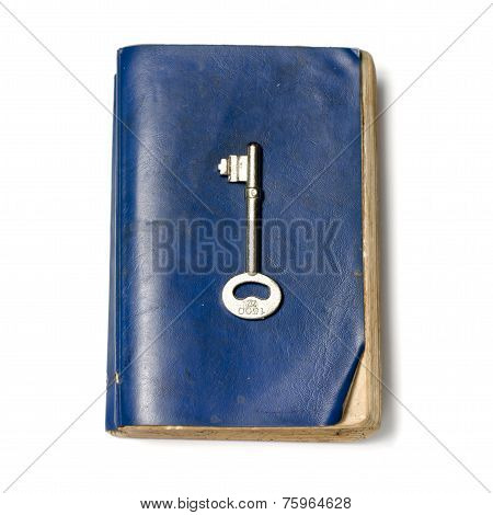 Old Book With Key