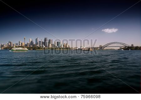 Sydney Waterfront CBD and Bridge