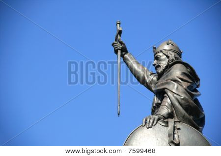 King Alfred The Great statue