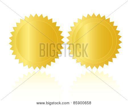 Gold Seal  / Stamp