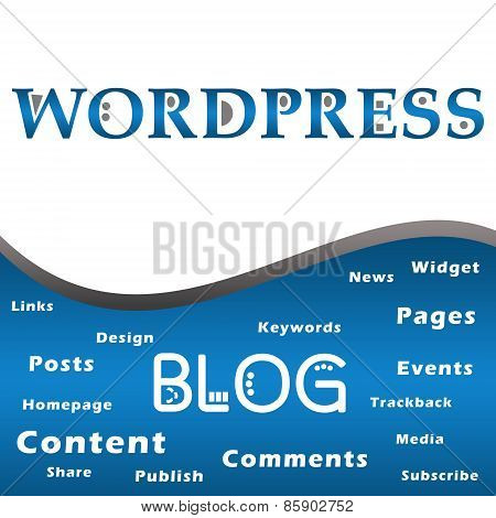 Wordpress Blog Keywords Square
