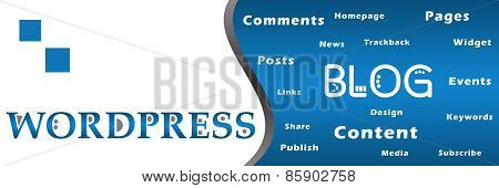 Wordpress Blog Keywords Banner