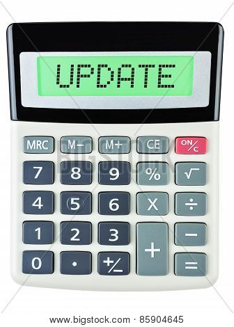 Calculator With Update