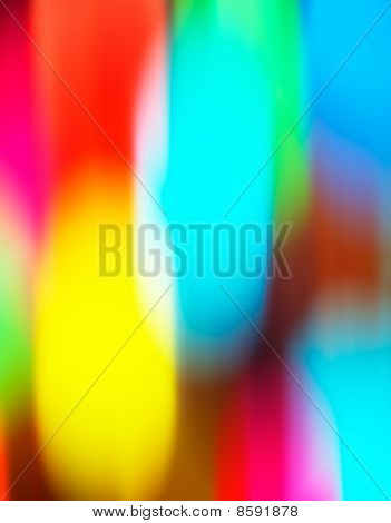 Smooth colorful wheel. Abstract blurry photographic background poster