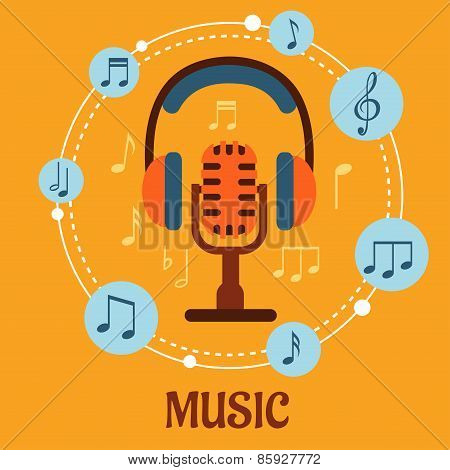 Music, sound and entertainment concept
