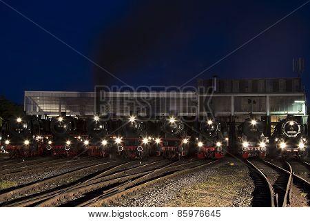 locomotive parade