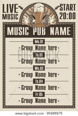 Musical pub