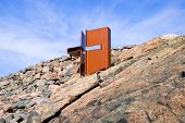 Helsinki. Finland. Temppeliaukio Church. Also known as a Church of the Rock (Kalliokirkko). The Church built directly into solid rock poster