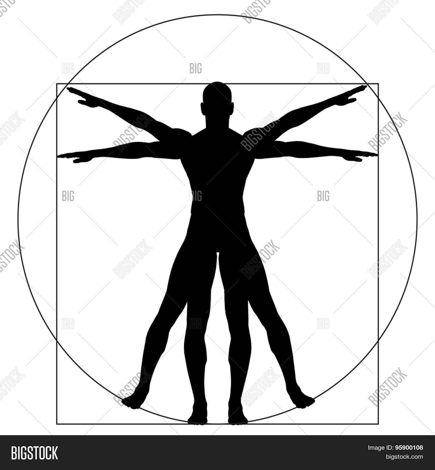 Vitruvian Human Man Image & Photo (Free Trial) | Bigstock