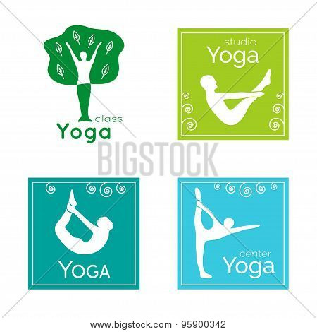Yoga logo.